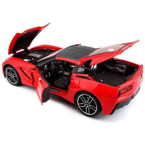 Image of 2014 Exclusive Diecast Model Corvette Stingray Z51 Sports Car