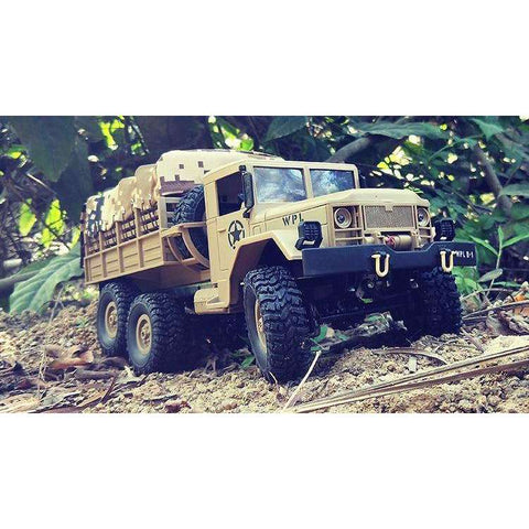 Image of B-16 1:16 RC Truck RC Crawler Car 6WD 2.4G 15km