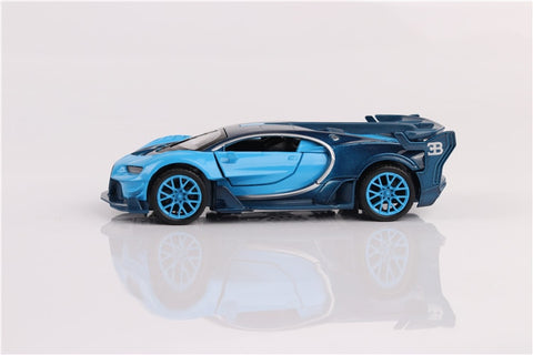 Image of Alloy Bugatti Chiron Gt Toy Replica