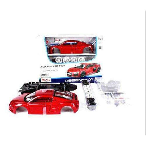 DIY MODEL KIT Audi R8 V10 PLUS Sports Car