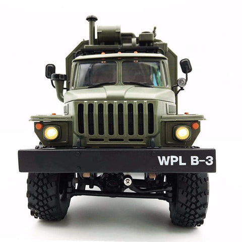 Image of B36 1/16 Soviet Ural Remote Control Military Command Truck