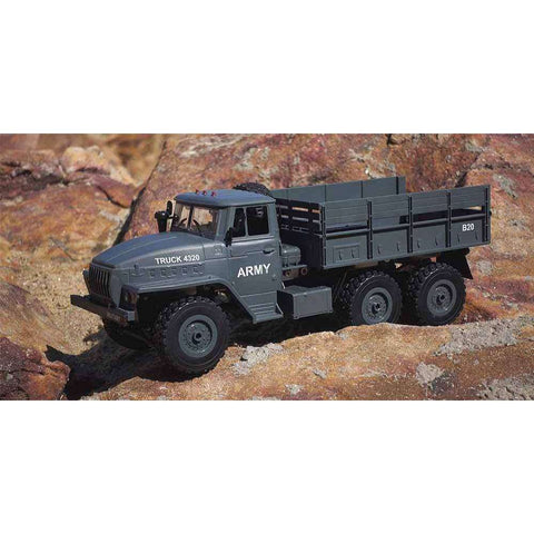 Image of MZ YY2004 6WD 1/12 B-20 Army Truck