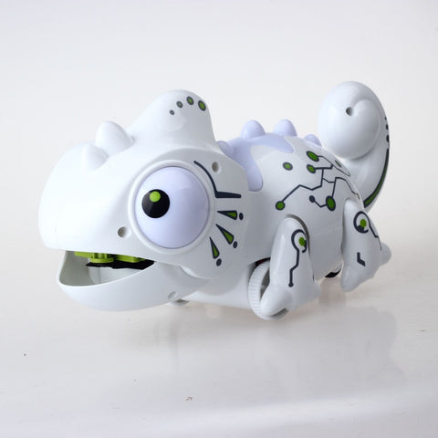 Image of Impulls 777-618 Rc Animals Toys New White Chameleon Color Changeable Smart Remote Control Lizard Novelty Party Gifts FSWOB