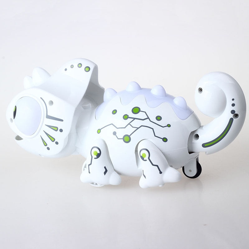 Impulls 777-618 Rc Animals Toys New White Chameleon Color Changeable Smart Remote Control Lizard Novelty Party Gifts FSWOB