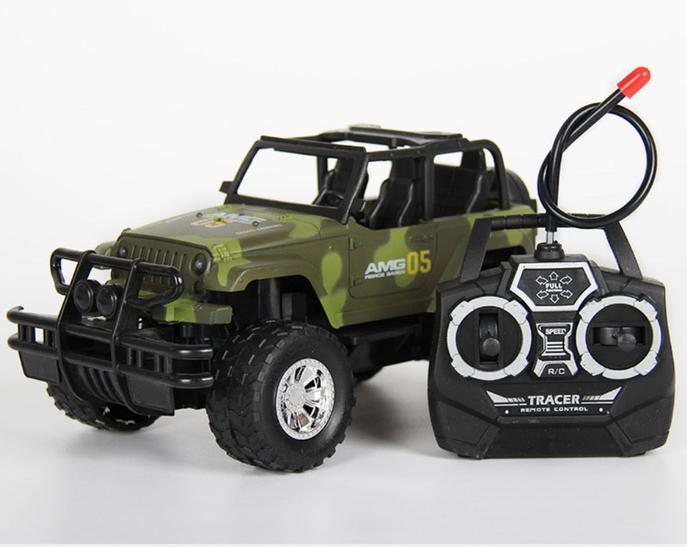 RC Jeep 1/24 Drift Speed Radio SUV camouflage military Remote control Off Road vehicle Steering wheel RC Jeep vehicle Car Toy