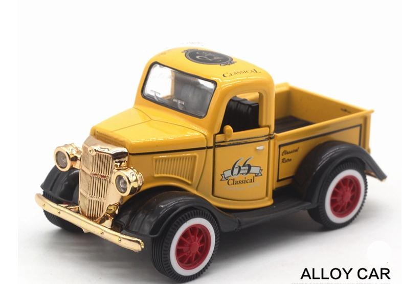 1:36 Alloy Pull Back Model Ford Pickup