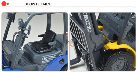 Image of Forklift truck model, Baby educational toys