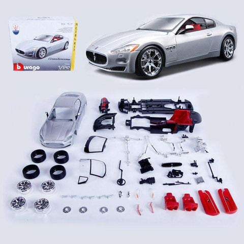 Maserati GT DIY Diecast MODEL KIT Toy Vehicle