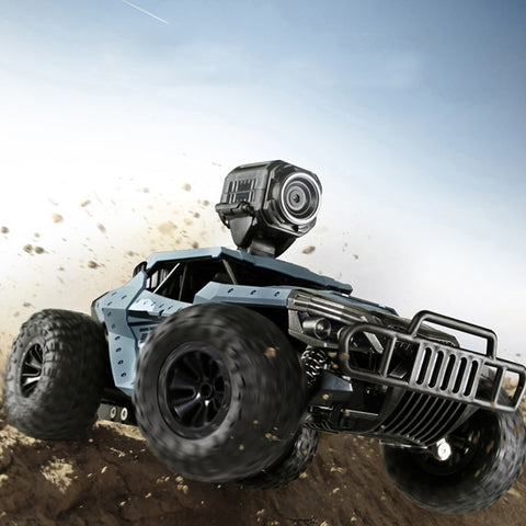 Image of New 2.4G 2WD High Speed FPV RC Car with WiFi Camera HD 720P 2MP Machine on the Radio Remote Control Off Road Carros Toy for Boys