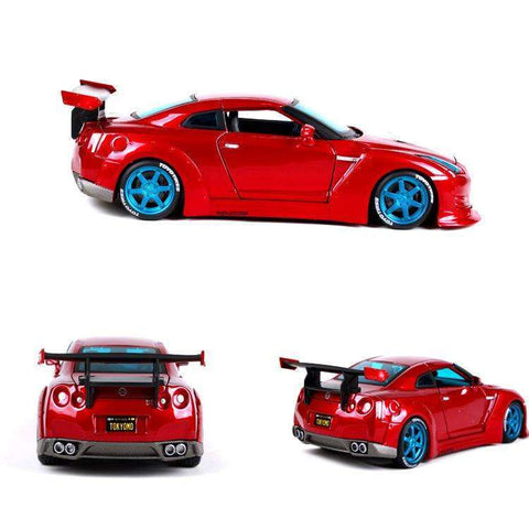 Diecast Model NISSAN GT-R R35 Racing Car