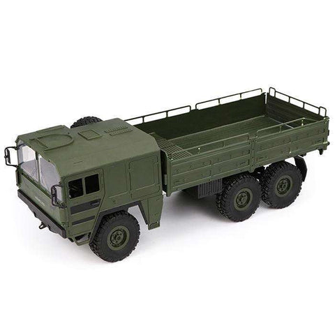 Q64 RC Car 1/16 2.4G 6WD Military Truck Off-road