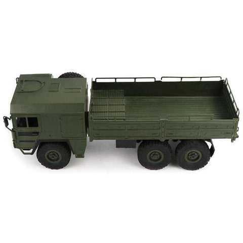 Image of Q64 RC Car 1/16 2.4G 6WD Military Truck Off-Road