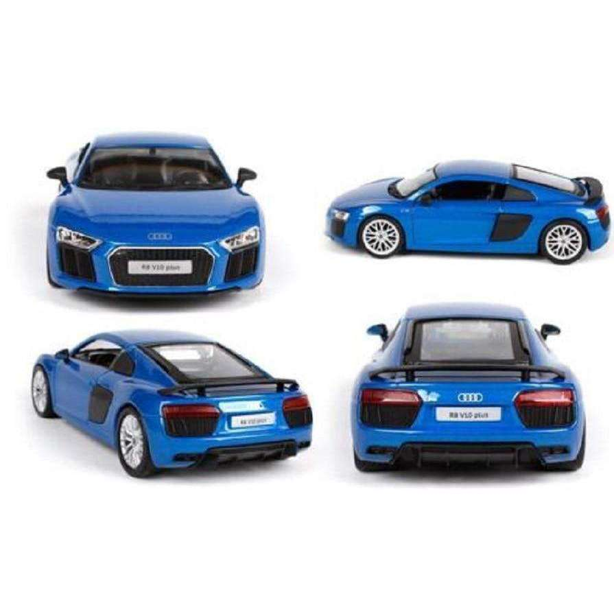 Diecast Audi R8 V10 Plus Model Racing Car