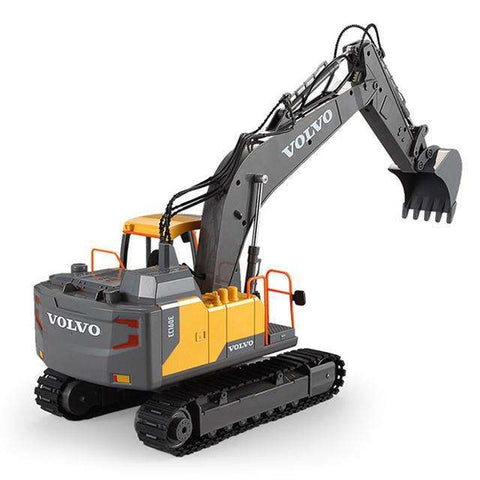VOLVO Remote Control Excavator Hydraulic Model Toy