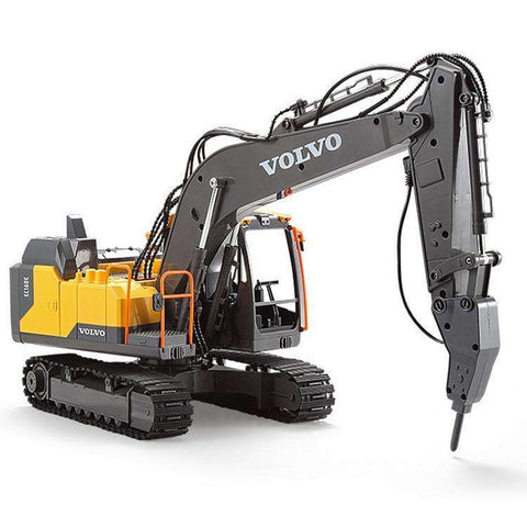 Image of VOLVO Remote Control Excavator Hydraulic Model Toy