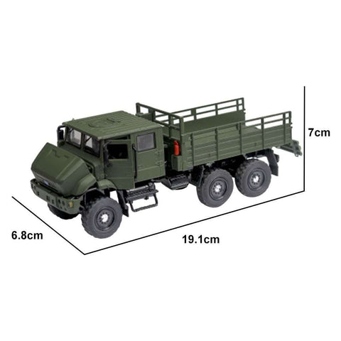 Alloy Tactical Military RC Truck Model