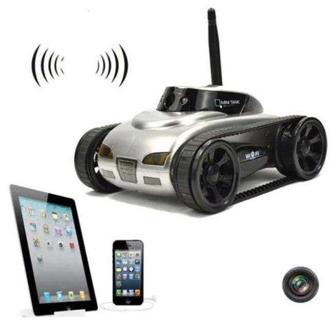 RCtown Real-time Transmission Video Wifi Tank RC Car with Camera Toy