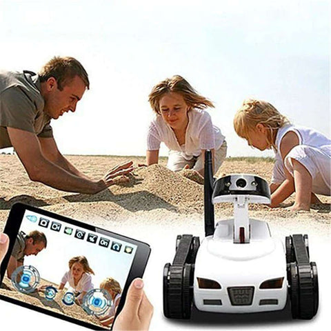 Image of RCtown Real-time Transmission Video Wifi Tank RC Car with Camera Toy