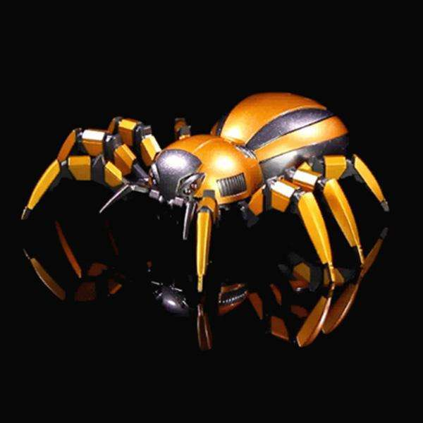 FEILUN Simulation Mechanical Spider Remote Control Toy Intelligent Crawling Remote Control Spider Toy RC Animal Gift for Kids