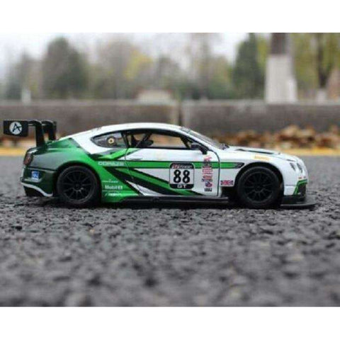 Image of 2003 Diecast Bentley Continental GT3 Model Sports Car