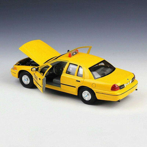 Image of 1999 Diecast Model Ford Crown Victoria Taxi Car
