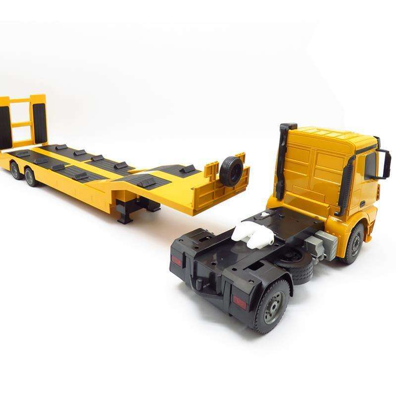Big RC Truck Flatbed Semi-Trailer 1:20 2.4G Engineering Tractor