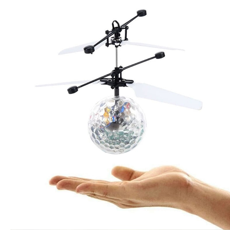 Toys for Boys Flying Ball LED 5 6 7 8 9 10 11Year Old Age Boys Cool RC Helicopters Toy Xmas Gift Kids Children