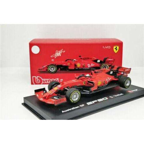 Image of Diecast Signature Series Ferrari F1 2019 Model SF90 Racing Car