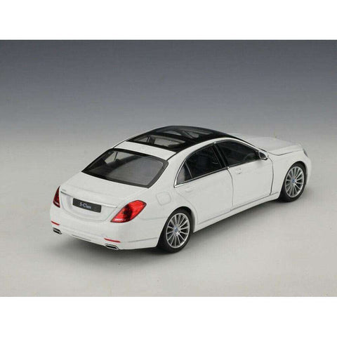 Diecast Model Mercedes Benz S-Class S500 S600 Toy Car