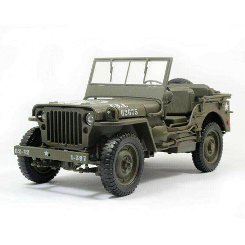 Image of 1941 Diecast Military Model Jeep