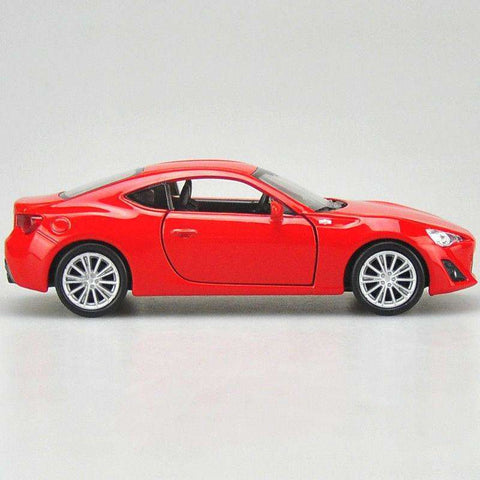 Image of Diecast Toyota 86 Pull Back Model Sports Car