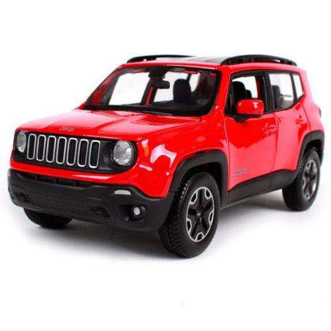 Image of 2017 Diecast Jeep Renegade Model SUV