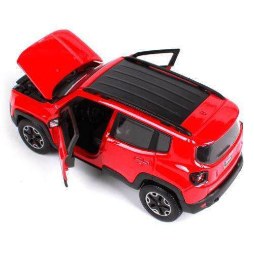 2017 Diecast Jeep Renegade Model SUV