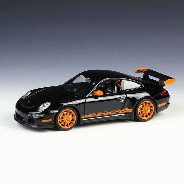 Diecast Porsche 911 GT3 RS 997 Model Sports Car
