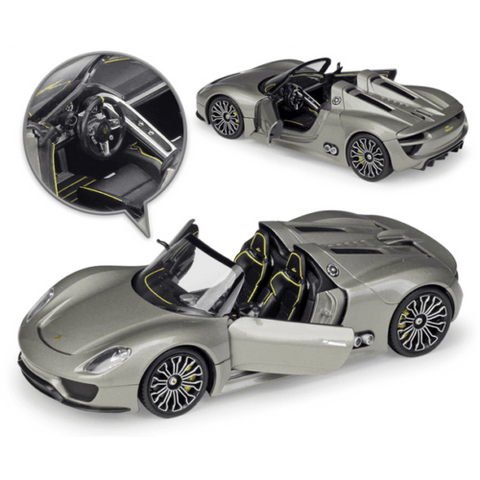 Image of Diecast Model Porsche 918 Spyder Race Car