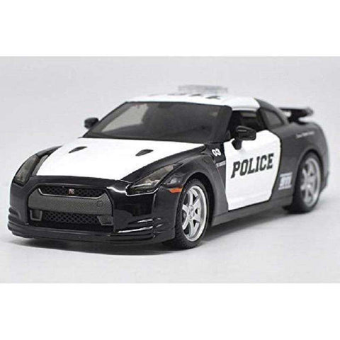 Image of 2009 Nissan Diecast GT-R35 Model Police Car