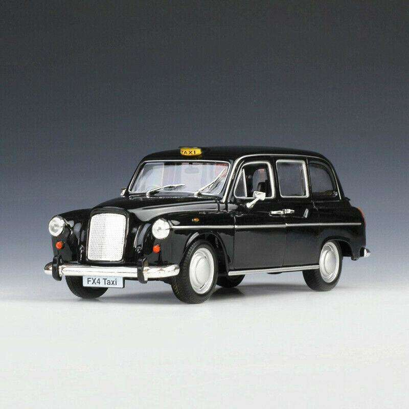 Diecast Austin FX4 London Taxi Model Car
