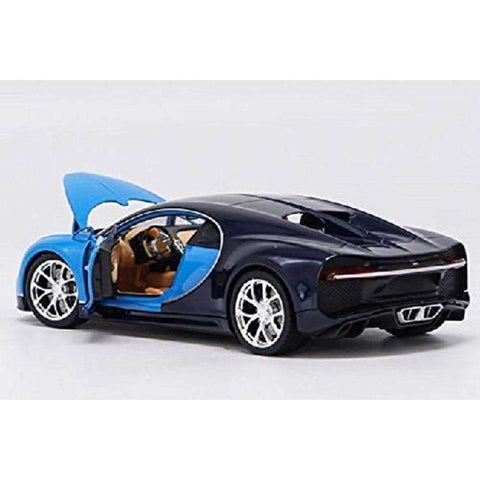 Image of Diecast Bugatti Chiron Model Sports Car