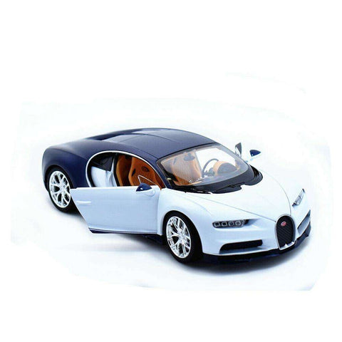 Image of Diecast Bugatti Chiron Model Toy Car