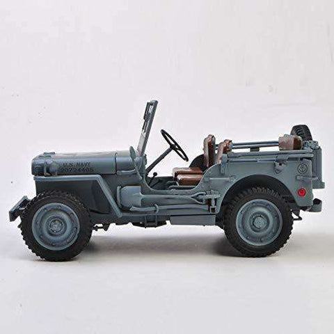 Image of 1941 Diecast Jeep MB  Model Toy Car