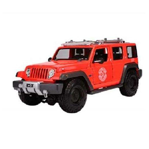 Image of Diecast Model SUV JEEP SWAT Rescue Concept