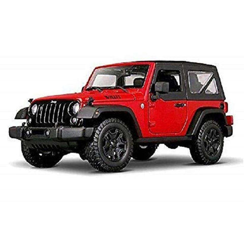 Image of 2014 Diecast Jeep Wrangler Willys Model Car Vehicle