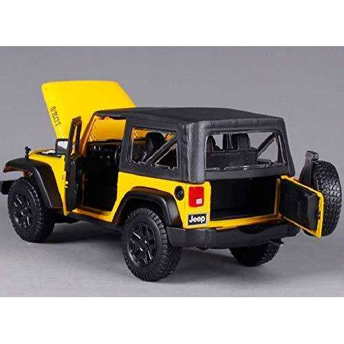 2014 Diecast Jeep Wrangler Willys Model Car Vehicle