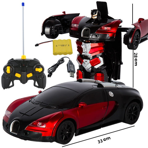 Image of 2020 Deformation RC Bugatti Robot Toy