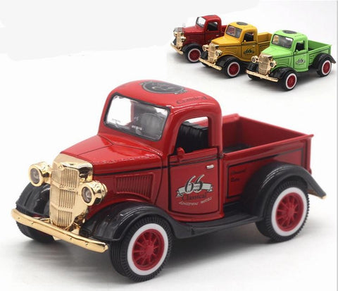 Image of 1:36 Alloy Pull Back Model Ford Pickup