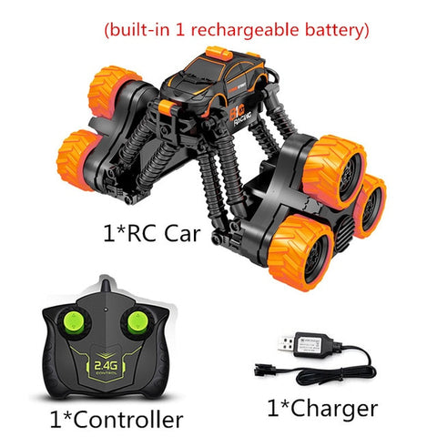 Image of Q2 4WD High Speed Rock Crawler Remote Control Stunt Car