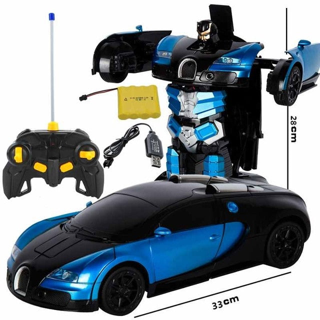 2020 Deformation RC Bugatti Robot Toy