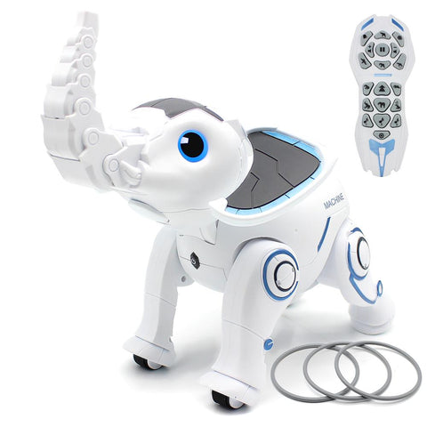 Remote Control Elephant RC Robot Interactive Children Toy Singing Dancing Elephant Smart Robot Early Education Toy For Kids Toys