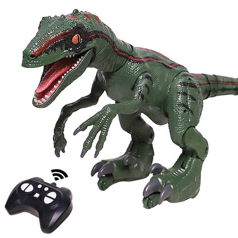Image of 2.4G RC Dinosaur Intelligent Raptor Animal Remote Control Jurassic Dinosaur Toy Electric Walking Animals Toys For Children Gift