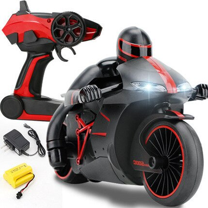 Super Mini Motorcycle RC Stunt Bike